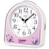 蓄光塗料 ライト付き 止めてもまた鳴るスヌーズ付き 目さましメロディ アラーム 目覚まし時計 セイコー SEIKO NR435P