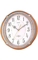 メロディーつきのインテリア掛け時計 アイスタイル4MN471-006