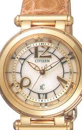 シチズン CITIZEN クロスシー電波時計 レディースウオッチXCB38-8992