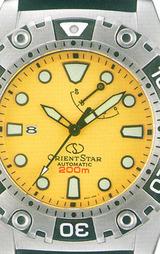 ORIENT オリエント オリエントスター 200m潜水用防水ダイバー 自動巻腕時計WZ0371FD