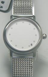メタルバンドの針のない時計?アバカス1-852987M