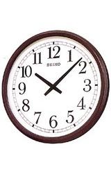 直径557mmと大きな木枠の掛け時計