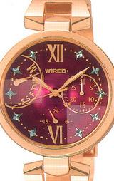セイコーSEIKO ワイアード エフ グラマラス カジュアルコレクション WIRED f 女性用腕時計 AGEE002