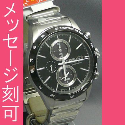 1/5秒計測 60分計のストップウオッチを採用した男性用時計