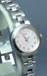 オリエントのシンプルでオシャレな女性用腕時計ユーwy0951ub