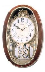 シチズン(CITIZEN)のメロディー電波時計「パルミューズM487」4MN487023掛時計