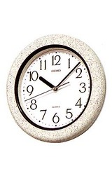 小ぶりのキッチン向き掛け時計KS441W