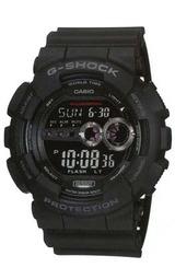 CASIO G‐SHOCKに高輝度LEDバックライトを搭載したメンズウオッチGD-100-1AJF