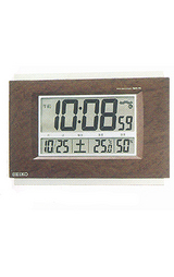 電波機能を搭載した温湿度表示付きの置き掛け兼用時計です