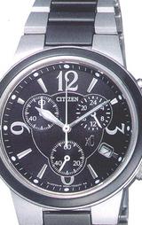 エコドライブ腕時計シチズンクロスシーXCH38-8961