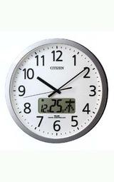 鳴る時間を任意にセットできるシチズン CITIENの壁掛け時計