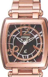 シチズン CITIZEN クロスシー電波時計 レディースウオッチXCB38-9002