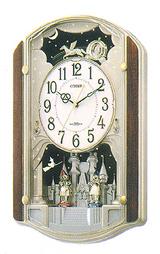 美しい音色のオーロラサウンドのメロディ掛時計