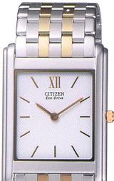 シチズン CITIZEN 薄型エコ・ドライブ男性用腕時計 ステレット SIV66-5151
