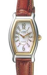 もったいない電池交換を減らし環境にもやさしいソーラー腕時計です