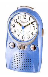 伝言にも便利な録音再生機能付きの目覚まし時計