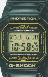 カシオ CASIO Gショック(G-SHOCK) ラスタファリアン DW-5600R-3JF