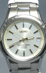 セイコー SEIKO スピリット ソーラー電波時計SBTM069