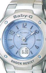 文字板には人気のブルーを採用した腕時計です