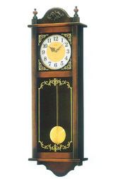 セイコー SEIKO 掛時計 電子音チャイムで報知する木枠の柱時計RQ307A