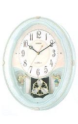 シチズンメロディ電波掛け時計パルミューズ4mn479-005