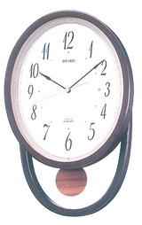 ヴェンゲカラーのモダンな掛け時計