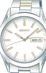 セイコー 曜日付きカレンダー採用 男性用腕時計スピリット SCDC039