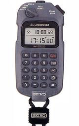 時間計算・時間管理を必要とする音楽製作や放送業務をサポートするストップウオッチ
