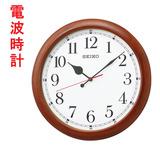 大きな木枠の掛時計