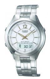 カシオ CASIO ビジネス向きソーラー電波時計 リニエージ LCW-M200DJ-7AJF