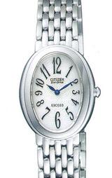 シチズン CITIZEN ソーラー腕時計 エクシードレディース EBS75-2391