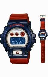 カシオ Gショック ブルー&レッドシリーズ DW-6900AC-2JF メンズ腕時計