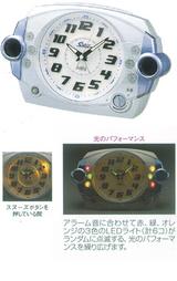 セイコー(SEIKO) 大音量目覚まし時計 スーパーライデン NR426S