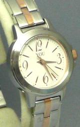 オリエント シンプルでオシャレな女性用腕時計 ユー wy0041a3
