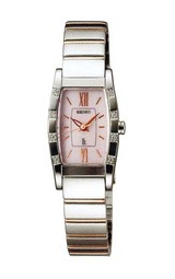 手元を華やかに演出するセイコーの女性用ソーラー腕時計ルキアSSVR037