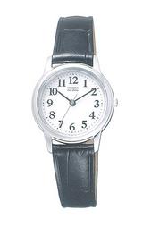 革バンドの腕時計フォルマ エコドライブソーラー女性用FRB36-2261