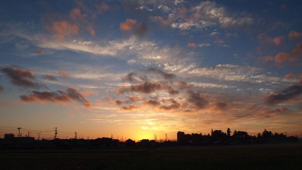 初秋の朝1