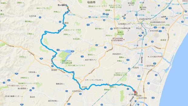 熊ヶ根駅 から 岩沼駅 - Google マップ