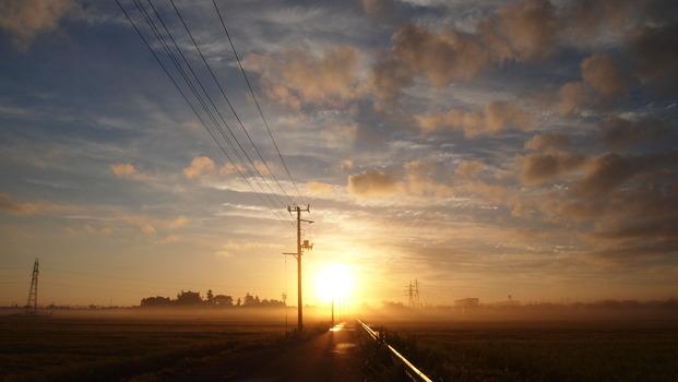 初秋の朝2