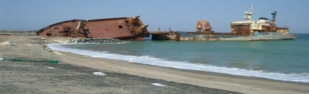 磯浜難破船4