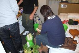 前日準備(2011年12月29日)