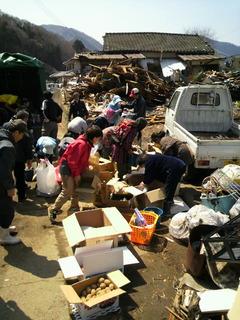 女川自宅避難集落