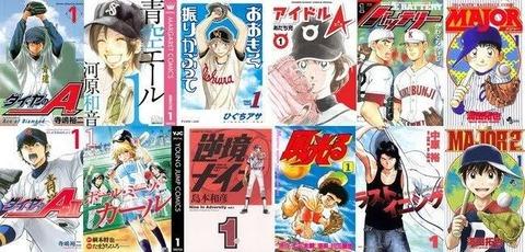 3大野球漫画の主人公「茂野吾郎」「上杉達也」