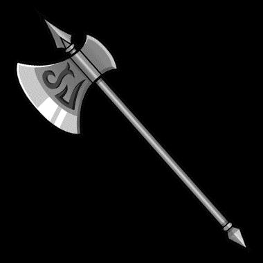西洋人「槍のリーチは強い…でも斧の破砕力も欲しい…せや!」
