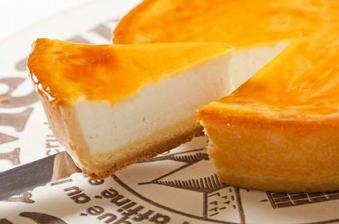 彡(^)(^)「おっ!パッパのチーズケーキうまそうやんけ!!」
