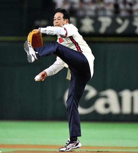 【悲報】村田兆治さん(68)、衰えてしまう