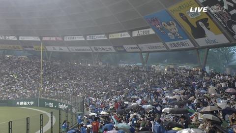 【朗報】西武ドーム、ドームなのに雷を堪能できる