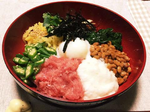 ワイ「ねばねば丼を作ります。材料は納豆、オクラ、生卵…」←後必要なものは?