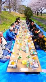 2006花見テーブル
