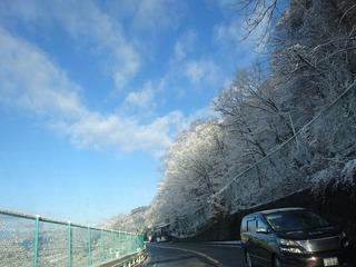 勝沼への道